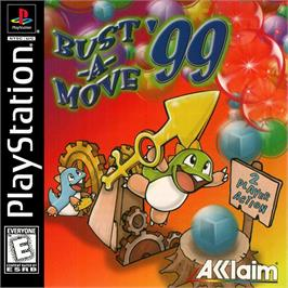 Box cover for Bust-A-Move '99 on the Sony Playstation.