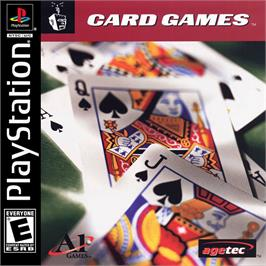 Box cover for Card Games on the Sony Playstation.