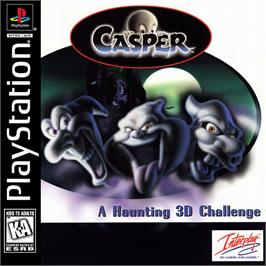 Box cover for Casper: Friends Around the World on the Sony Playstation.