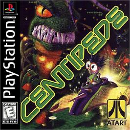 Box cover for Centipede on the Sony Playstation.