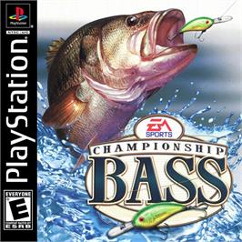 Box cover for Championship Bass on the Sony Playstation.