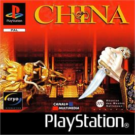Box cover for China: The Forbidden City on the Sony Playstation.