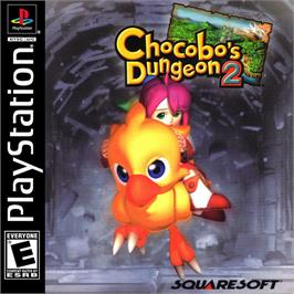 Box cover for Chocobo's Dungeon 2 on the Sony Playstation.