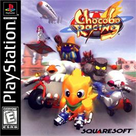 Box cover for Chocobo Racing on the Sony Playstation.