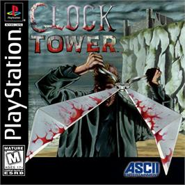 Box cover for Clock Tower on the Sony Playstation.