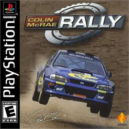 Box cover for Colin McRae Rally on the Sony Playstation.