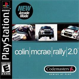 Box cover for Colin McRae Rally 2.0 on the Sony Playstation.