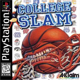 Box cover for College Slam on the Sony Playstation.