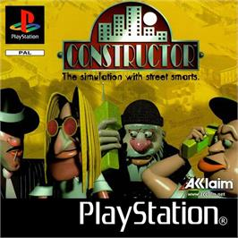 Box cover for Constructor on the Sony Playstation.