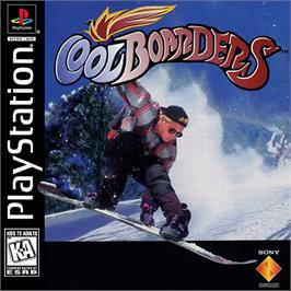 Box cover for Cool Boarders on the Sony Playstation.