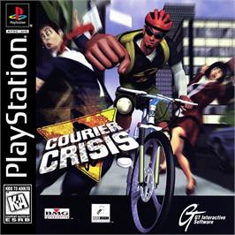 Box cover for Courier Crisis on the Sony Playstation.