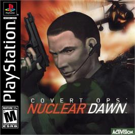Box cover for Covert Ops: Nuclear Dawn on the Sony Playstation.