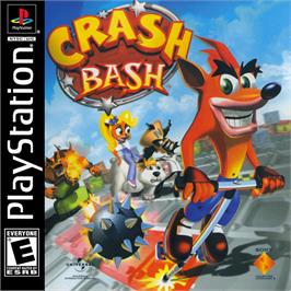 Box cover for Crash Bash on the Sony Playstation.