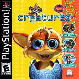 Box cover for Creatures on the Sony Playstation.