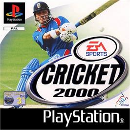Box cover for Cricket 2000 on the Sony Playstation.