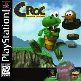 Box cover for Croc: Legend of the Gobbos on the Sony Playstation.