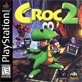 Box cover for Croc 2 on the Sony Playstation.