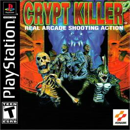 Box cover for Crypt Killer on the Sony Playstation.