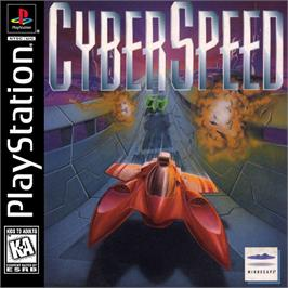 Box cover for CyberSpeed on the Sony Playstation.