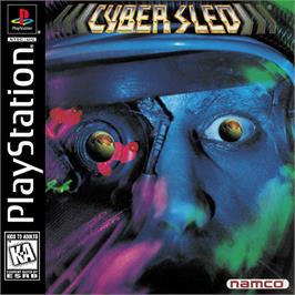 Box cover for Cyber Sled on the Sony Playstation.