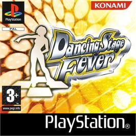Box cover for Dancing Stage Fever on the Sony Playstation.