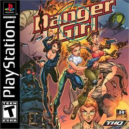Box cover for Danger Girl on the Sony Playstation.