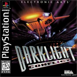 Box cover for Darklight Conflict on the Sony Playstation.