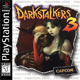 Box cover for Darkstalkers 3 on the Sony Playstation.