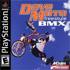 Box cover for Dave Mirra Freestyle BMX on the Sony Playstation.