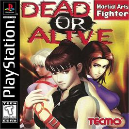 Box cover for Dead or Alive on the Sony Playstation.