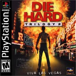 Box cover for Die Hard Trilogy 2: Viva Las Vegas on the Sony Playstation.