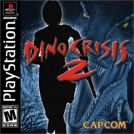 Box cover for Dino Crisis 2 on the Sony Playstation.