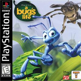 Box cover for Disney/Pixar A Bug's Life on the Sony Playstation.