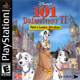 Box cover for Disney's 101 Dalmatians II: Patch's London Adventure on the Sony Playstation.