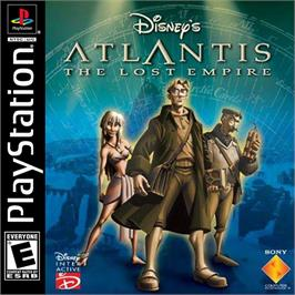 Box cover for Disney's Atlantis: The Lost Empire on the Sony Playstation.