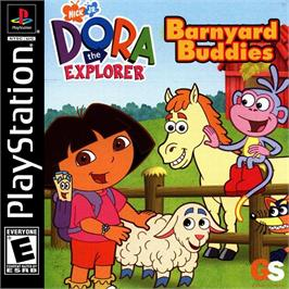 Box cover for Dora the Explorer: Barnyard Buddies on the Sony Playstation.