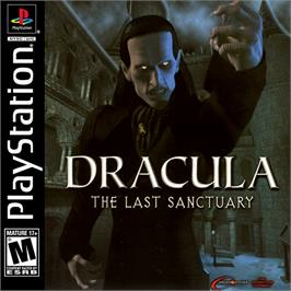 Box cover for Dracula: The Last Sanctuary on the Sony Playstation.
