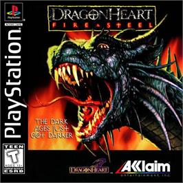 Box cover for DragonHeart: Fire & Steel on the Sony Playstation.