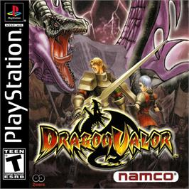 Box cover for Dragon Valor on the Sony Playstation.