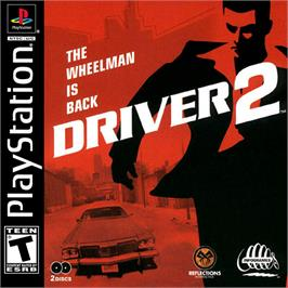 Box cover for Driver 2 on the Sony Playstation.