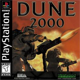 Box cover for Dune 2000 on the Sony Playstation.