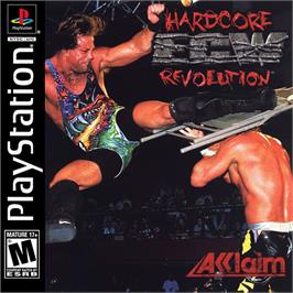 Box cover for ECW Hardcore Revolution on the Sony Playstation.