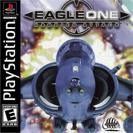 Box cover for Eagle One: Harrier Attack on the Sony Playstation.