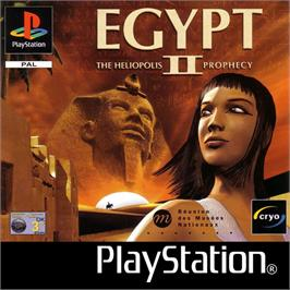 Box cover for Egypt II: The Heliopolis Prophecy on the Sony Playstation.
