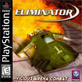 Box cover for Eliminator on the Sony Playstation.