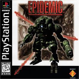 Box cover for Epidemic on the Sony Playstation.