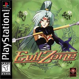 Box cover for Evil Zone on the Sony Playstation.