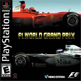 Box cover for F1 World Grand Prix 2000 on the Sony Playstation.