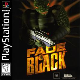 Box cover for Fade to Black on the Sony Playstation.