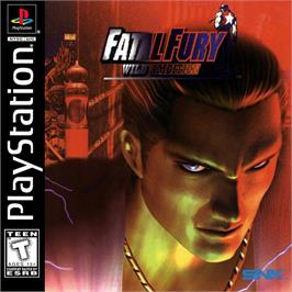 Box cover for Fatal Fury: Wild Ambition on the Sony Playstation.